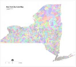 zip code map new york state images