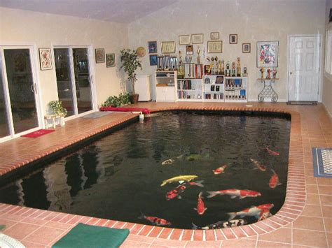 how to make an indoor fish pond art s koidoc indoor pond