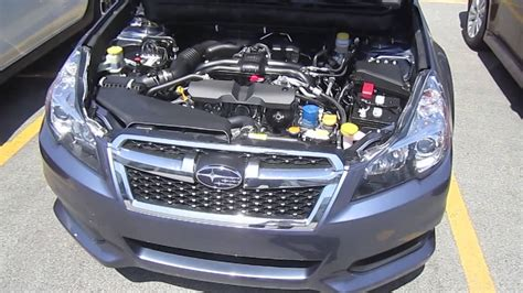2013 subaru legacy 2 5i premium engine interior review