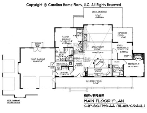 slab foundation floor plans pdf file for chp sg 1799 aa affordable small home plan