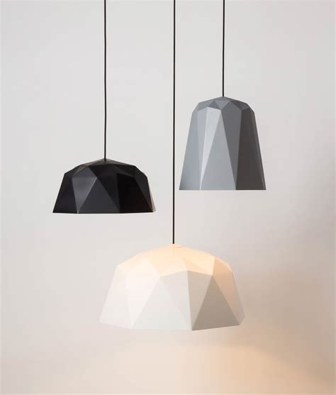 pendant light geometric pendant light osaka white