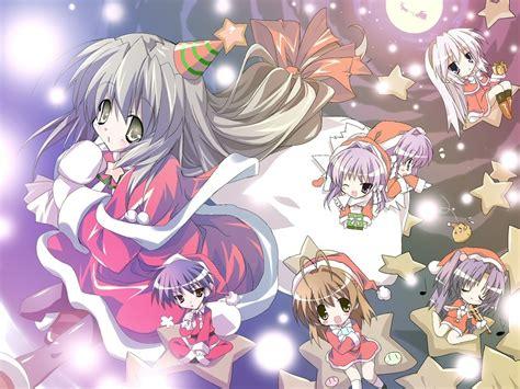 wallpaper anime christmas merry christmas anime wallpaper 11408316 fanpop