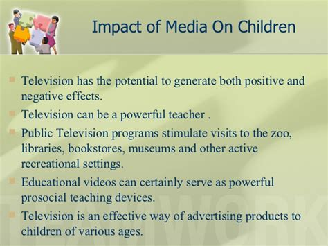 Influence Of Media On Youth Essay by Impact Of Media On Child Youth