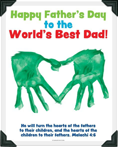 Father S Day Craft Sunday School Crafts Fathers Day