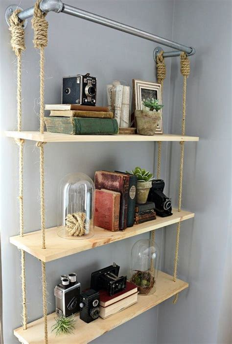 things to put on shelves functional and stylish wall shelf ideas recycled things