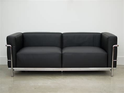 ex display sofa buy the ex display cassina lc3 two seater sofa at nest co uk
