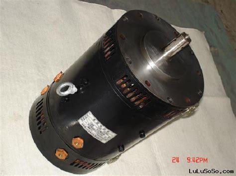 hdu3800e 48v 3 8kw advanced separately excited motor eec