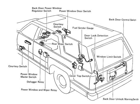 2000 toyota 4runner engine diagram 1990 toyota 4runner parts diagram auto engine and parts