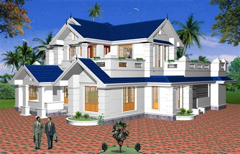 Architecture Design House Plans In India Indian Independent Villa Design Of Cochin Architects