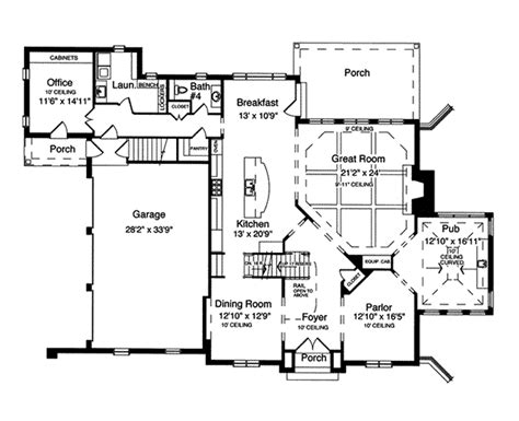 american house floor plan dauphine early american home plan 065s 0031 house plans
