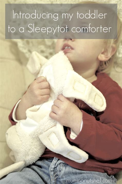 when to introduce a comforter to baby introducing my toddler to a sleepytot baby comforter review