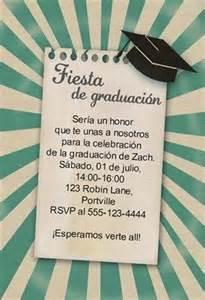 invitaciones para graduacion gratis quot 218 nete a la fiesta de graduaci 243 n quot printable invitation