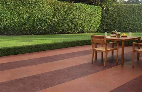 customize concrete patios  color