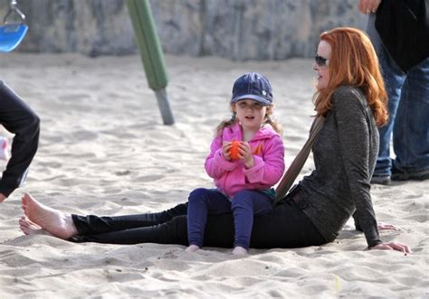 Adorable Photos Of Marcia Cross And At The Park by Alisa Celebkids