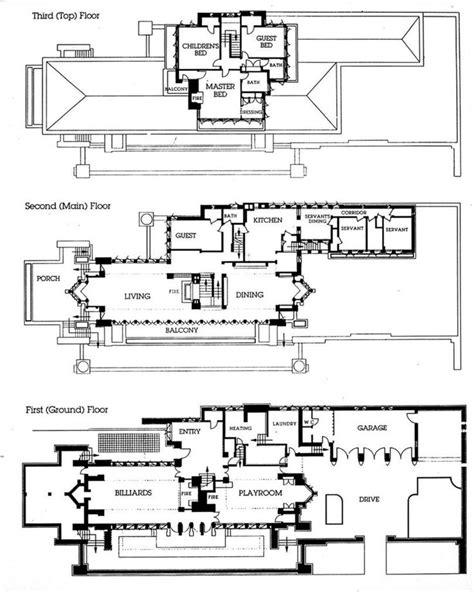 frank lloyd wright house plans frank lloyd wright house plans pesquisa google plans