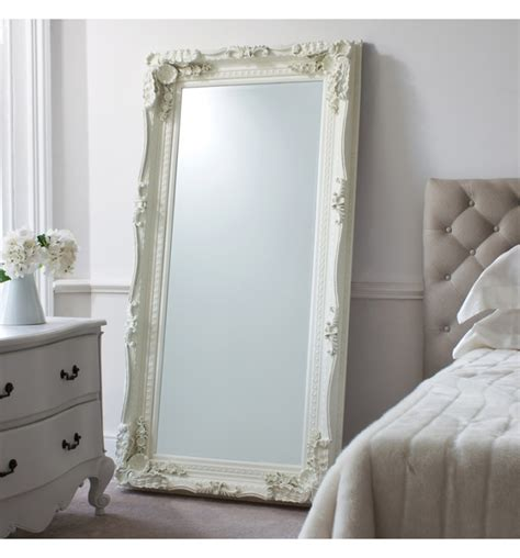 oversized bedroom floor mirror love for the home