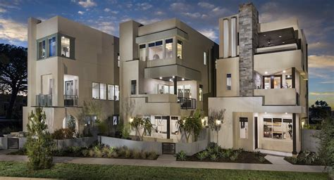 New Homes Orange County by Great Park Neighborhoods Obsidian At Parasol Park New
