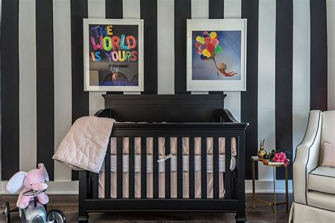 Black And White Nursery Decor 20 Cheerful And Versatile Ways To Use Black In The Nursery