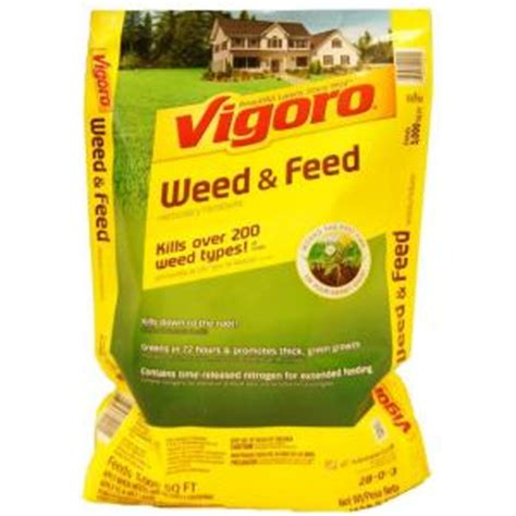 vigoro 15 06 lb 5m and feed 52201a1 the home depot