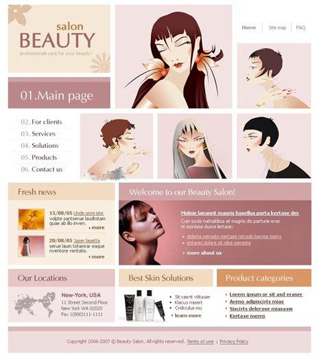beauty salon website template 17391 beauty salon website template 10547