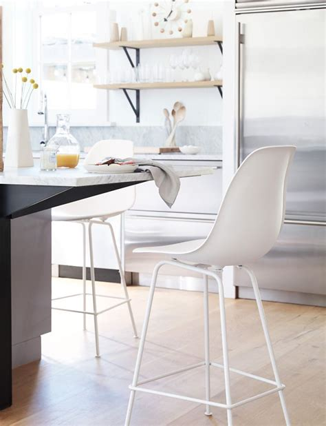 Eames Bar Stool Base by Eames Molded Plastic Stool Counter Height Herman Miller