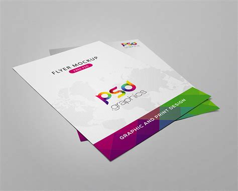blue magazine cover design psd print template psdgraphics flyer mockup free psd graphics download download psd