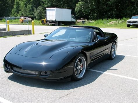 C5 Corvette 1997 2004 High Rise Hood w/Vent   Corvette Mods