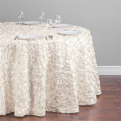 rental table linens rosette table linen all colors and wedding