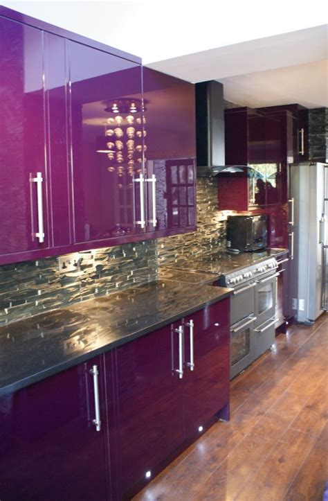 gloss purple kitchen cabinets quicua 25 best ideas about purple kitchen cabinets on purple kitchen inspiration purple