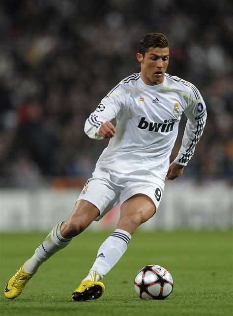 Real Madrid 09 cristiano ronaldo in real madrid v lyon uefa chions league zimbio