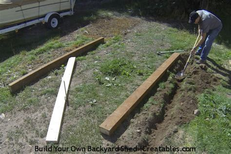build shed foundation icreatables