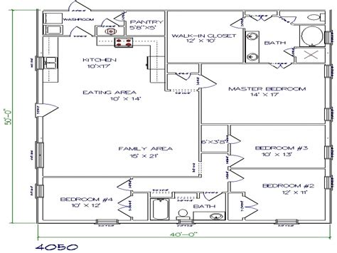 floor plans for metal building homes texas barndominium floor plans 40x50 metal building house