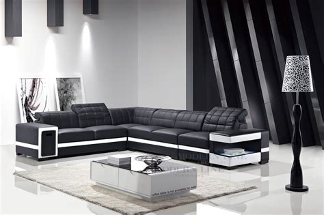 white and black sectional 12 ideas of black and white sectional sofa