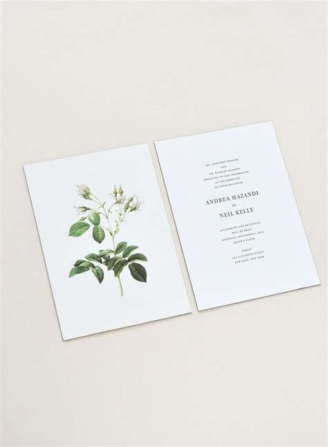 Best 25  Simple wedding invitations ideas on Pinterest