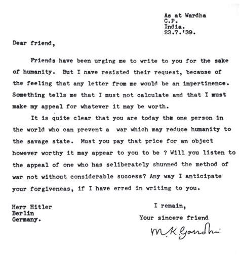 lettere d in francese lettre de gandhi 224 171 au nom de l humanit 233 187 des