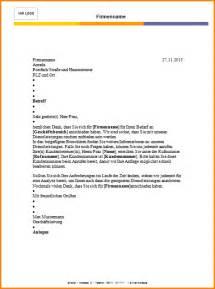 Wie Schreibt Briefvorlage Briefvorlage Kostenlos Reimbursement Format