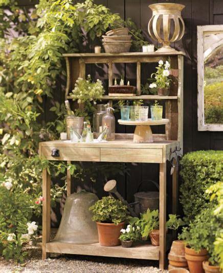 vintage potting bench mod vintage life potting bench gardens and sheds
