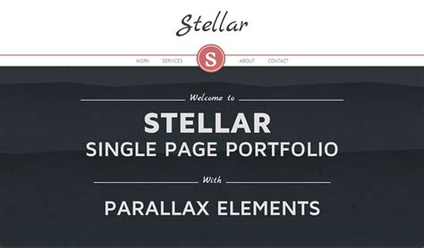 Parallax Scrolling Template parallax scrolling templates