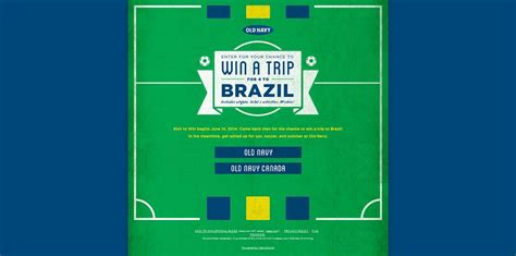 Old Navy Sweepstakes 2014 - oldnavy com brazil old navy kick to win sweepstakes