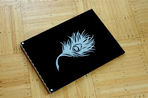Handmade Portfolio - portfolio design feathered dreams