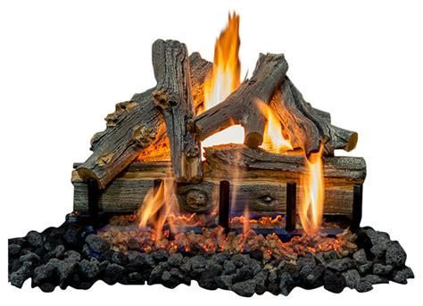 21 quot arizona juniper logs 2 burner gas battery