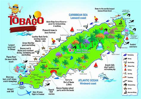 Mystery At Crown Island map of tobago search take me to