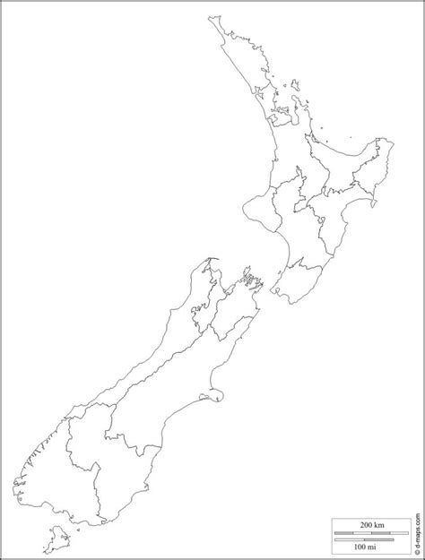 template of new zealand map new zealand free map free blank map free outline map