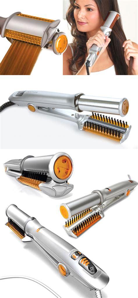 Hair Dryer Untuk Rambut Keriting catok rambut bisa lurus ikal catok instyler rotating iron