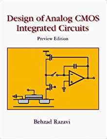 design of analog cmos integrated circuits 1st edition design of analog cmos integrated circuits mcgraw hill series in electrical and computer