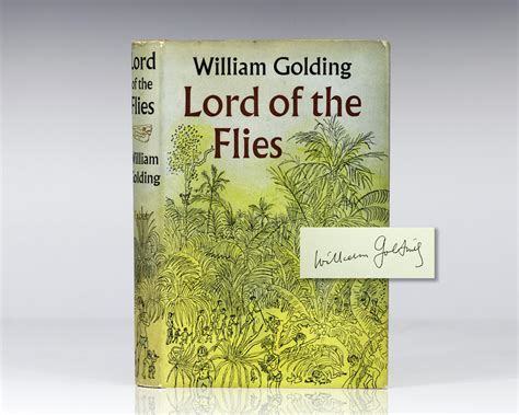 lord of the flies w golding edition books lord of the flies by william golding signed