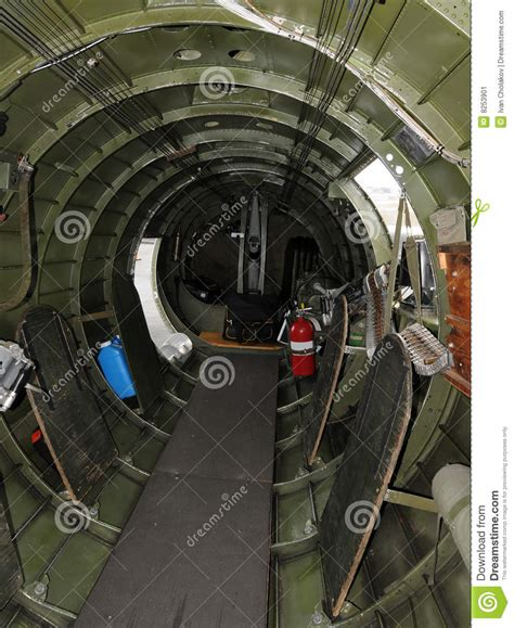 B 2 Bomber Interior by Bomber Interior Stock Image Image 8253901