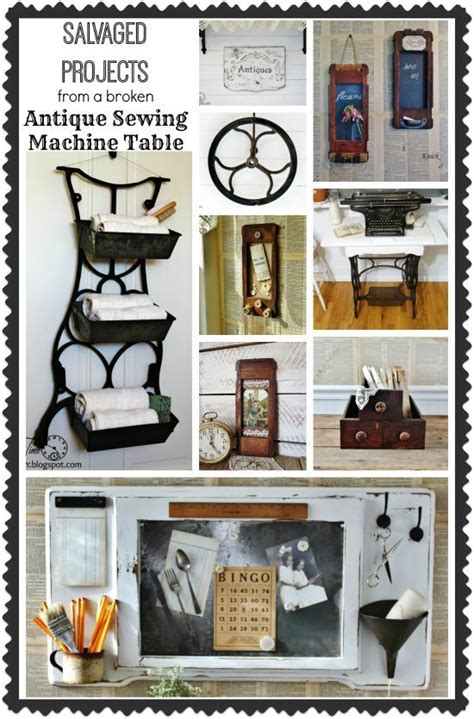 sewing projects home decor hometalk 16 classy repurposed sewing tables