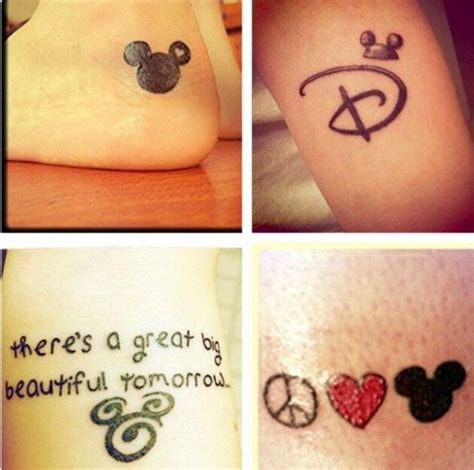 cute disney tattoos best 25 disney tattoos ideas on disney