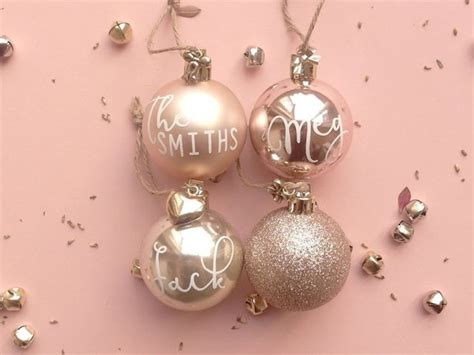 best 25 personalised christmas baubles ideas on pinterest